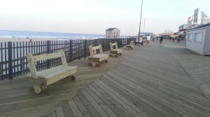 New boardwalk in Seaside Heights